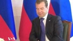 Медведев встретился с Ким Чен Иром