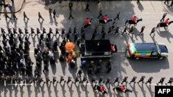 2일 국장으로 치러진 멜레스 제나위 에티오피아 총리 장례식 장면