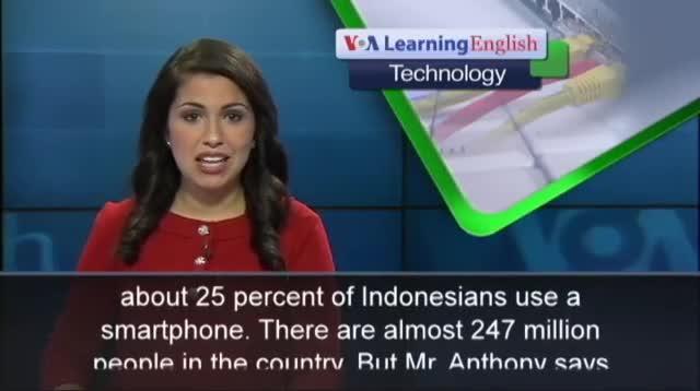 Indonesian Smartphone Use Rises
