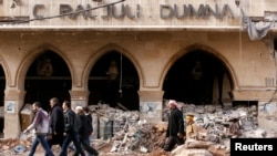 Ruínas do Hotel Coral Julia Dumna Hotel , Aleppo