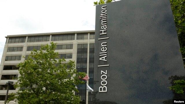 The Booz Allen Hamilton Holding Corp office building in McLean, Virginia, June 11, 2013.