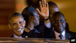 Барак Обама и Маки Салл