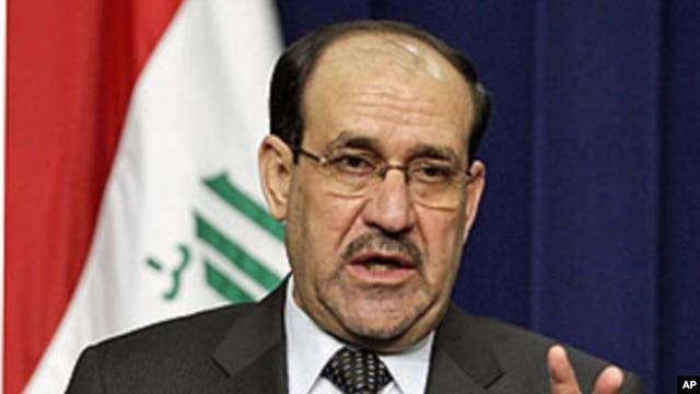 Iraq's Prime Minister Nouri al-Maliki (File)