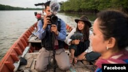 Jennifer Ka works as a volunteer protecting enviornment in Cambodia. (Courtesy of Jennifer Ka)