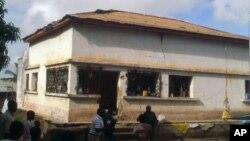 Edifício da delegação da Renamo em Nampula