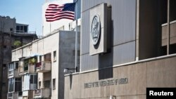 美国驻以色列特拉维夫大使馆(资料照)