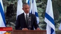 TT Obama đọc điếu văn tại tang lễ Shimon Peres