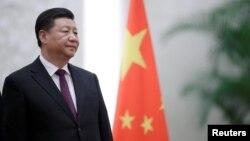 中國國家主席習近平在北京人大會堂。(2018年12月10日)