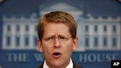 Ο εκπρόσωπος του Λευκού Οίκου, Τζέι Κάρνεϊ