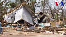 Destrucción en Vanuatu