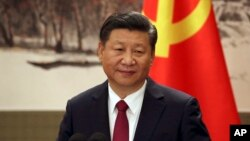 Chủ tịch Trung Quốc Tập Cận Bình, ngày 25/10/2017.