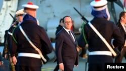 Tổng thống Pháp cảm ơn người Ảrập về tình đoàn kết thể hiện khi xảy ra những vụ tấn công khủng bố tuần trước ở Paris.