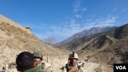 په ختیځ کې دملي اردو د ۲۰۱ سېلاب قول اردو ویاند وایي په دغه جګړه کې افغان ځواکونه هوايي ملاتړ هم لري.