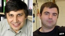 Андрей Гейм и Константин Новоселов