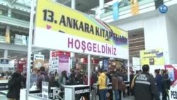 13. Ankara Kitap Fuarı'na Yoğun İlgi