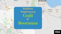 Kibba Oromiyaatti Jiraattonni humnoota Nageenya mootummaan hidhamuu fi dararamuu himatu