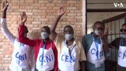 Amwe mu Masanamu y'Amatora i Bujumbura mu Burundi