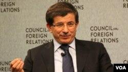 Menteri Luar Negeri Turki, Ahmet Davutoglu