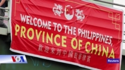 Xuất hiện băng-rôn Philippines là 'tỉnh của TQ'