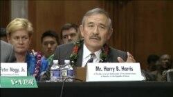 VOA连线(李逸华):美参院召开驻韩大使确认听证,哈里斯:美韩军演应暂停