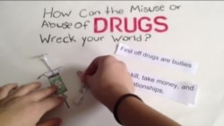 年轻电影制片人抗击毒品滥用