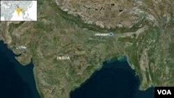Map of Jalpaiguri, India