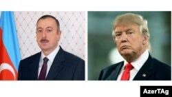 İlham Əliyev və Tramp