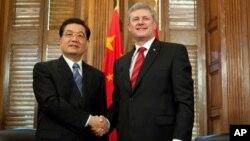 加拿大總理哈珀曾於2010年訪問中國(資料圖片)