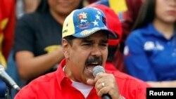 وینزویلا کے صدر نکولس ماڈورو، فائل فوٹو