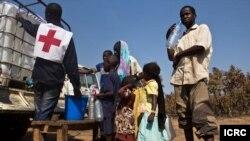 Le CICR vient en aide aux déplacés de Ndélé