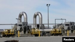 Pipa minyak TransCanada yang beroperasi di kota Steele City, negara bagian Nebraska, AS (foto: ilustrasi).