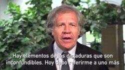 Luis Almagro: En Venezuela murió el Estado de derecho