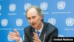 Utusan Khusus PBB untuk Suriah, Geir Pederson.