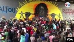 Kafou Ayewopò anba Vyadik la kote manifestasyon opozisyon konn reyini.