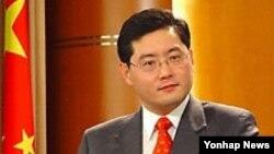 친강 중국 외교부 대변인. (자료사진)