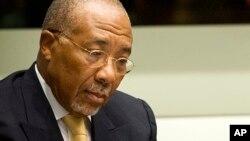 Cựu Tổng thống Liberia Charles Taylor tại Tòa án đặc biệt về Sierra Leone (SCSL) tại Hà Lan, ngày 26/9/2013.
