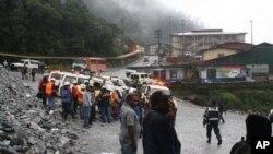 Para pekerja tambang Freeport Indonesia di Mimika, Papua. (Foto: Dok)