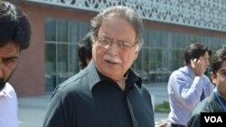 وفاقی وزیر اطلاعات پرویز رشید