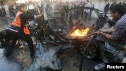 ჰამასის ლიდერის, აჰმედ ალ-ჯააბარის მანქანა