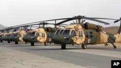 Helikopter Black Hawk yang digunakan dalam misi di Afghanistan. (Foto: Ilustrasi)