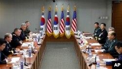 2011년 서울에서 열린 미-한 군사위원회회의