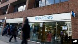 Chi nhánh ngân hàng Barclays ở London