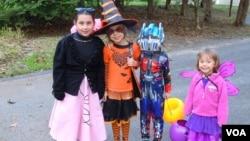 Anak-anak di Amerika bersiap merayakan tradisi Halloween yang jatuh setiap 31 Oktober. (Foto: Ilustrasi)