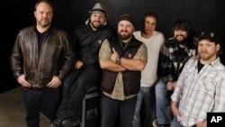 El grupo Zac Brown Band en Nashville.
