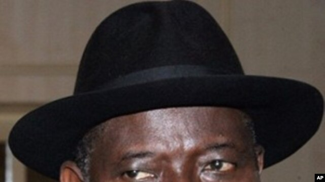 Nigeria's Acting President Goodluck Jonathan in Abuja. The country's parliament has named Jonathan acting president while President Umaru Yar'Adua remains hospitalized in Saudi Arabia (November 2009 file photo)