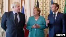 Johnson-Merkel-Macron