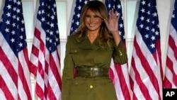 Mudzimai waVaDolad Trump, Amai Melania Trump, vachisvika pamusangano webato reRepublican Party, weRepublican National Convention, RNC, muWashington D.C.