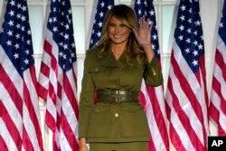 သမၼတကေတာ္ Melania Trump (ၾသဂုတ္ ၂၅၊ ၂၀၂၀)