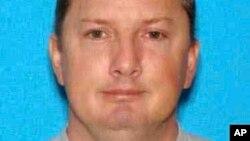 Foto de la licencia de conducir de Oregon a nombre de Neal Falls, sospechoso de ser un asesino en serie.
