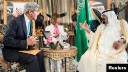 Джон Керри и король Абдалла